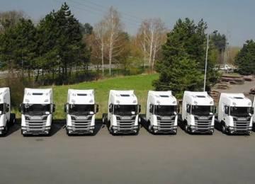 Santa-Trans rozšířil flotilu vozidel Scania na zemní plyn. Mají nové motory s delším dojezdem a menšími nároky na údržbu
