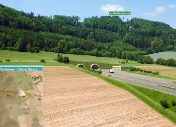 ŘSD má územní rozhodnutí na dalších 17 kilometrů D35, i pro nejdelší dálniční tunel