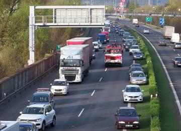 Trest za zablokování nouzového koridoru v Německu. Pokuta byla málo.