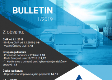 ČSDP BULLETIN 1/2018